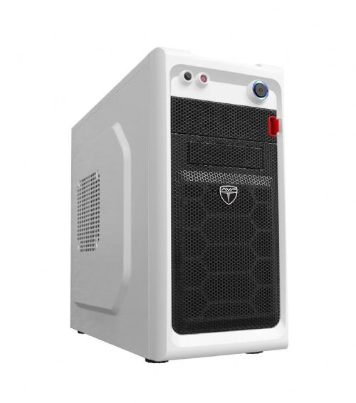 AvP Viper Mini Tower White 2 x 12cm Fans USB 3.0